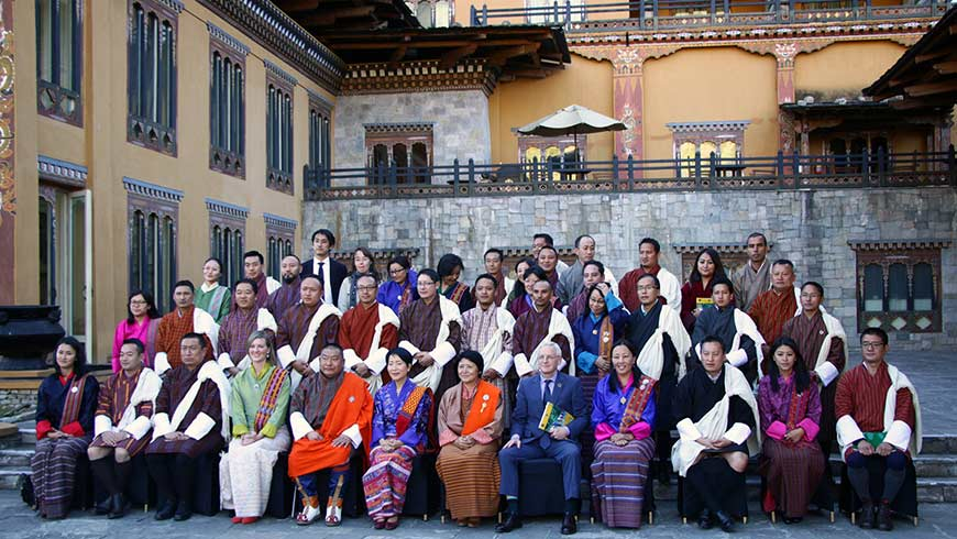 Bhutan group photo