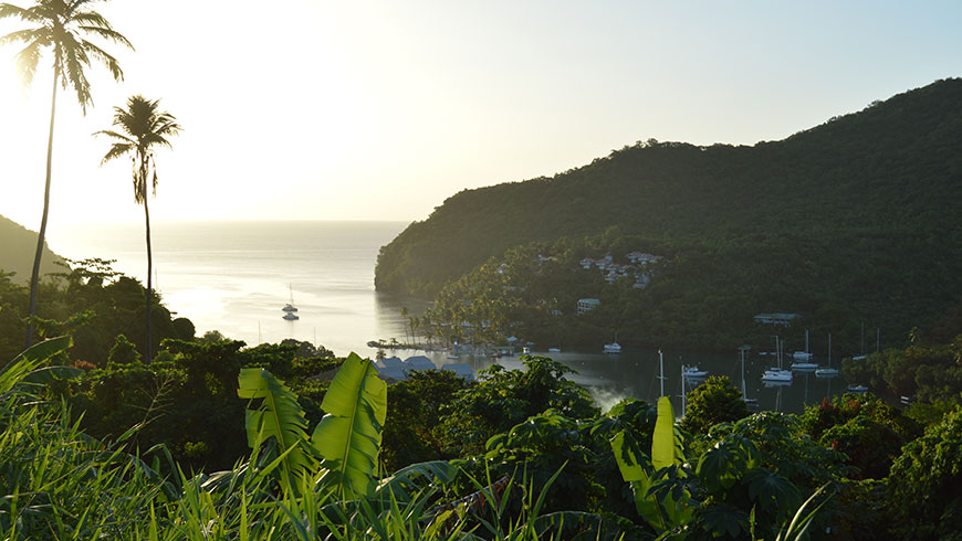 Sound environmental decision making is crucial to Saint Lucia's ability to balance people and nature. Photo: Chris Cox/UN Environment