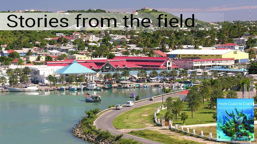 St. Johns port, Antigua