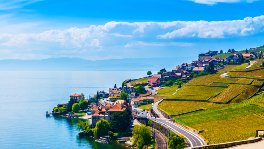 Lake Geneva, Switzerland. Photo: PixHound/Shutterstock.
