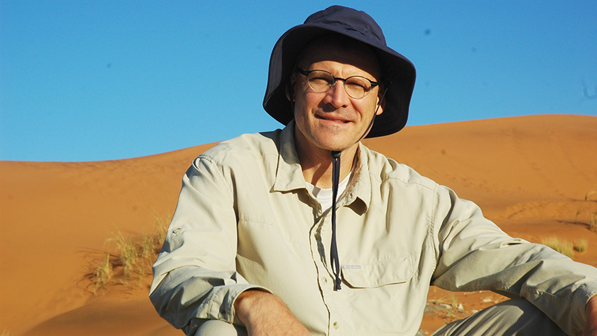Ulrich Apel in Namibia