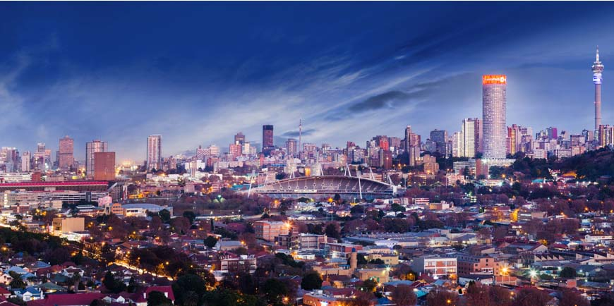 Johannesburg is part of the Sustainable Cities Integrated Approach Program.