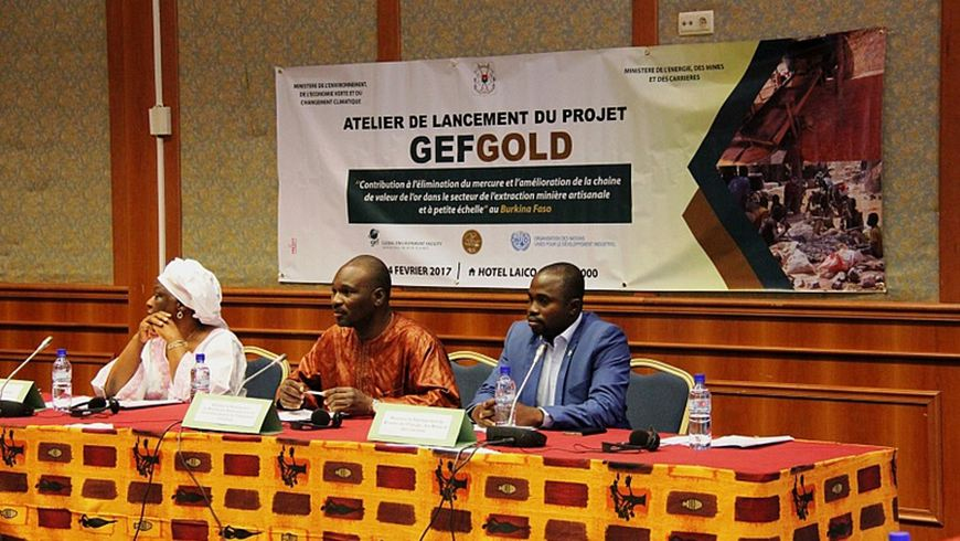 Project preparatory phase launch event in Ouagadougou on 24 February 2017.