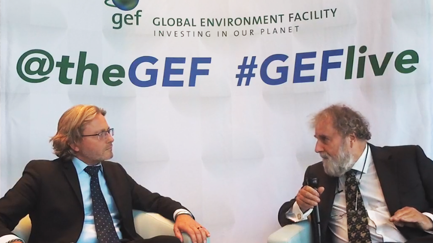 GEF Live with Sir Robert Watson