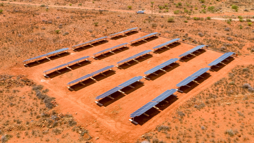 Solar panels in South Africa