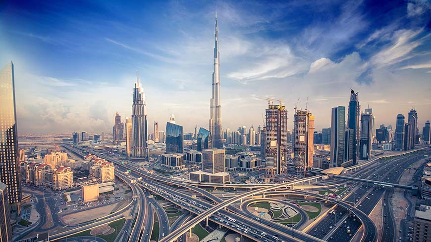 Arab States such as United Arab Emirates shown above, are making steady progress towards achieving Sustainable Development Goals. Photo: Shutterstock.