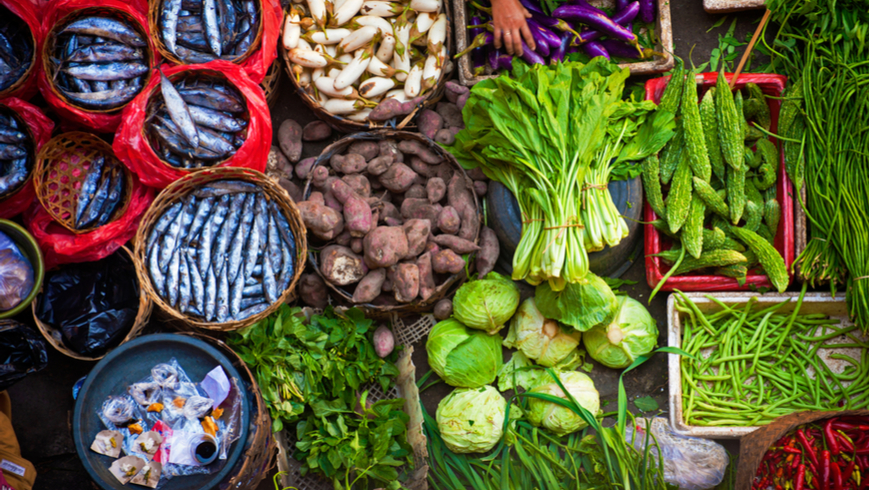 The reduction of agricultural biodiversity in global food systems is of growing concern. Photo: Edmund Lowe Photography / Shutterstock.