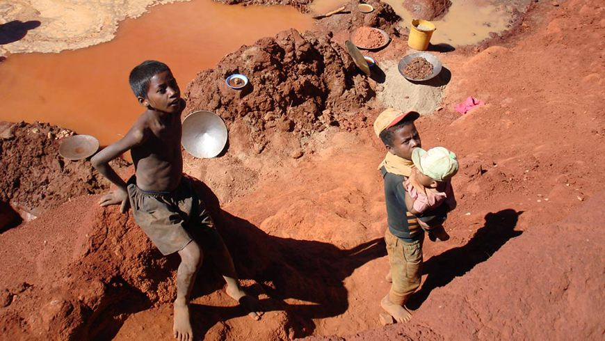 Mercury use in small-scale mining