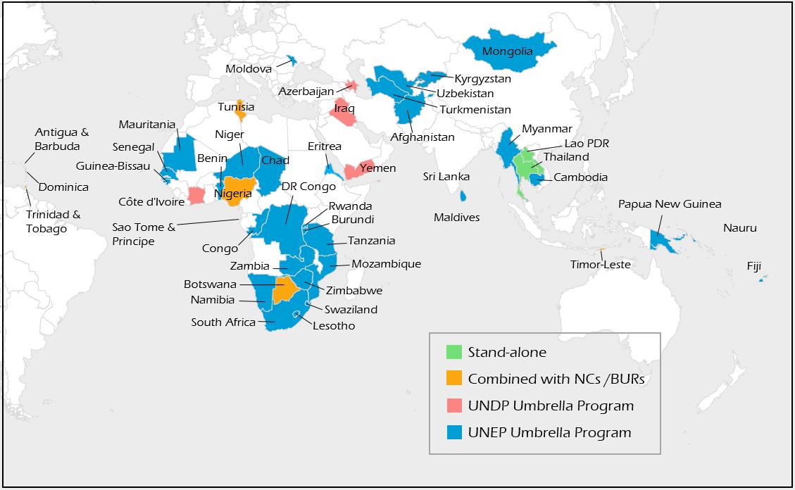 INDC map