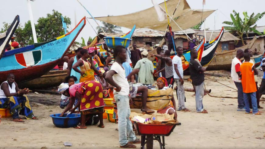 Liberian market