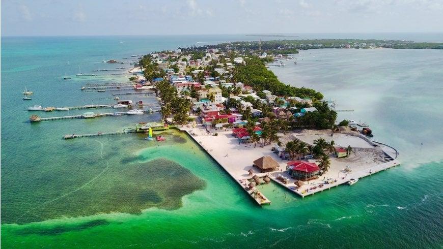 Caye Caulker, Belize Barrier Reef, Belize.