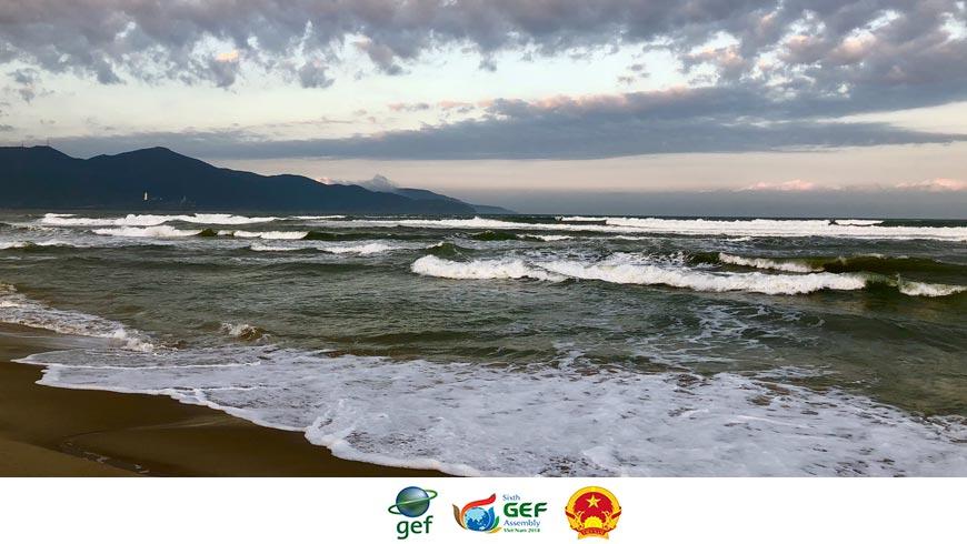 Da Nang beach, Viet Nam