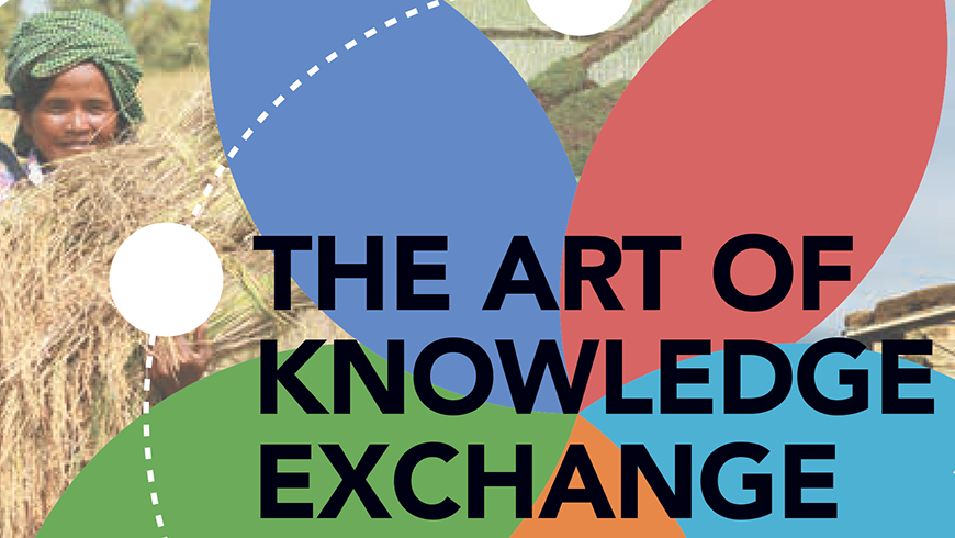 Cover image of Art of Knowledge Exchange publication