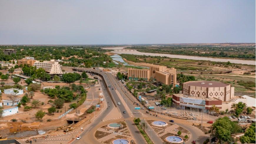 Panoramic view of Niamey, Niger
