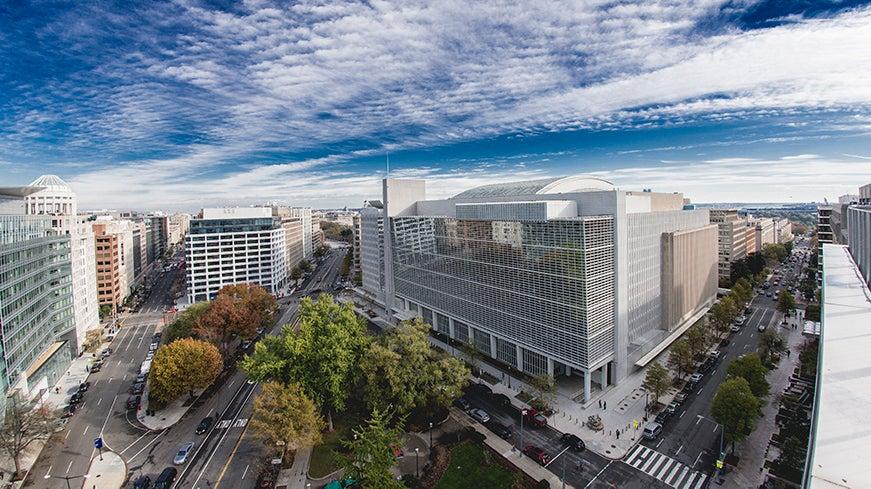 World Bank headquarters (HQ)