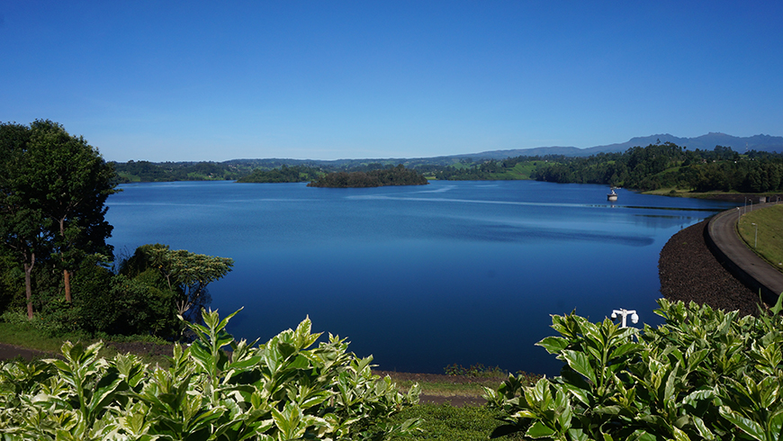 Reservoir in Kenya