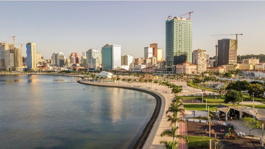 Shot of Luanda, Angola