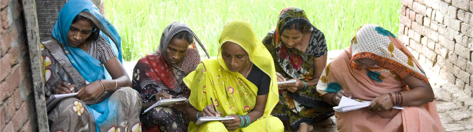 women reading in india