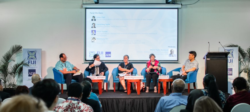 Experts at ADB's 2019 Annual General Meeting in Fiji Discuss the Urgency of Managing Natural Resources and Vulnerability in Asia and Pacific