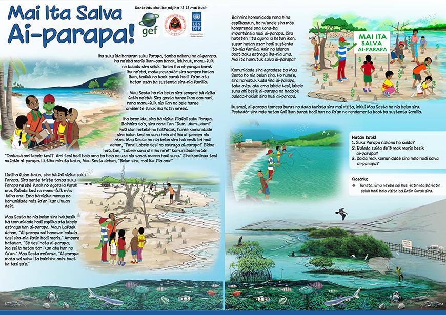 GEF UNDP brochure in Timor-Leste