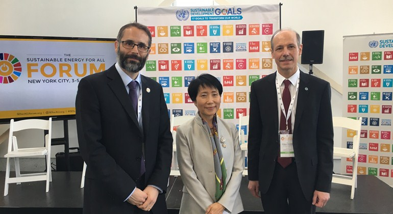 """We must transform our urban systems to meet the challenges of sustainability and climate,"" said Naoko Ishii, GEF CEO and Chairperson. ""Through this partnership, we can provide awareness raising, policy advice and technology transfer directly to sub-national governments ready to take action."""