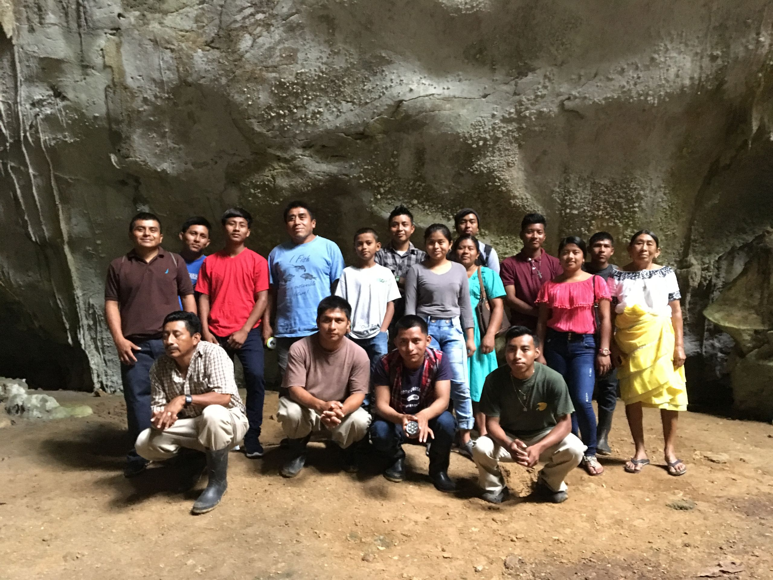 Participants of agroecology training, Belize