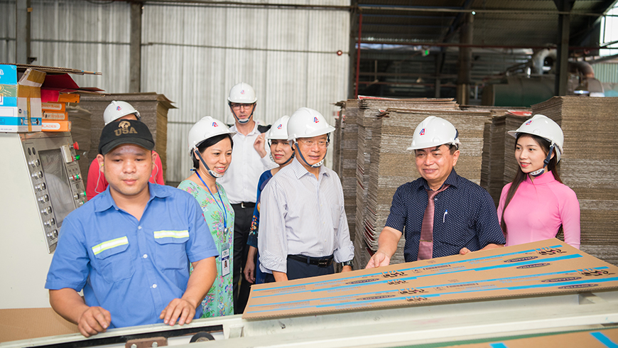 LI Yong, Director General of the United Nations Industrial Development Organization (UNIDO) Visit Tan Long Paper Factory – June 2018